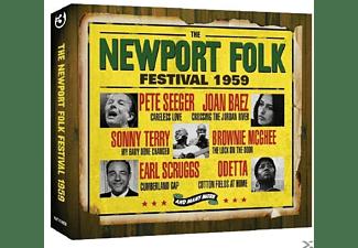 VARIOUS - The Newport Folk Festival 1959  - (CD)
