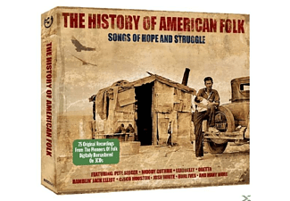 VARIOUS - History Of American Folk  - (CD)