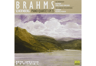 The London Philharmonic Orchestra - Brahms: Piano Quartet Op. 25 - (CD)
