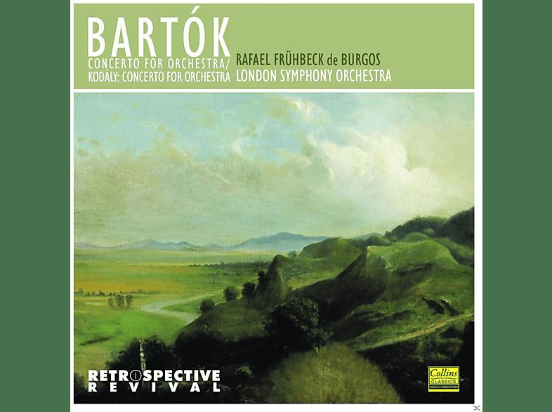 London Symphony Orchestra - Bartók: Concerto For Orchestra - Kodály: Concerto For Orchestra [CD]