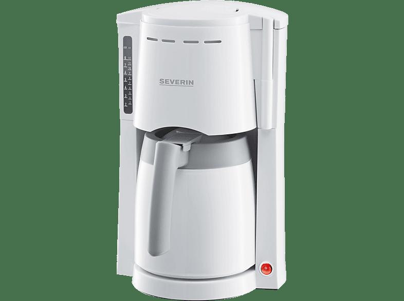 SEVERIN KA 4114 Kaffeemaschine Weiß