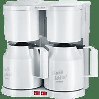 SEVERIN KA 5827 Duo Kaffeemaschine Weiß