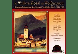Max Hansen, Walter Jankuhn, Siegfried Arno, Georges Milton, Gabrielle Ristori, VARIOUS - Im Weissen Roessl (1916-1935)  - (CD)