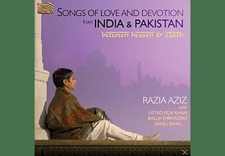 Razia Aziz - India & Pakistan, Songs Of Love&Dev  - (CD)