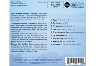 Chen Dacan Chinese Ensemble - Classical Chinese Folk Music  - (CD)