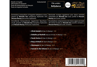 Mostafa Sax - Egyptian Bellydance  - (CD)