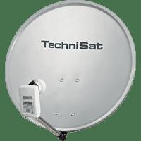 TECHNISAT 1055/2882 DigitalSat 55 Twin-LNB Satellitenschüssel (HDTV, DVB-S, Grau)