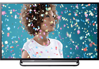 SONY KDL-40R485B 40 Zoll Full HD TV schwarz, Clear Resolution Enhancer, HD Triple Tuner, WLAN, EEK A LED TV (40 Zoll / 102 cm, Full-HD)