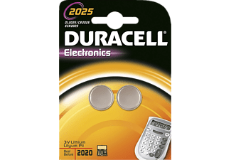 DURACELL Electronics CR2025 - 2 τχμ - (81418245)