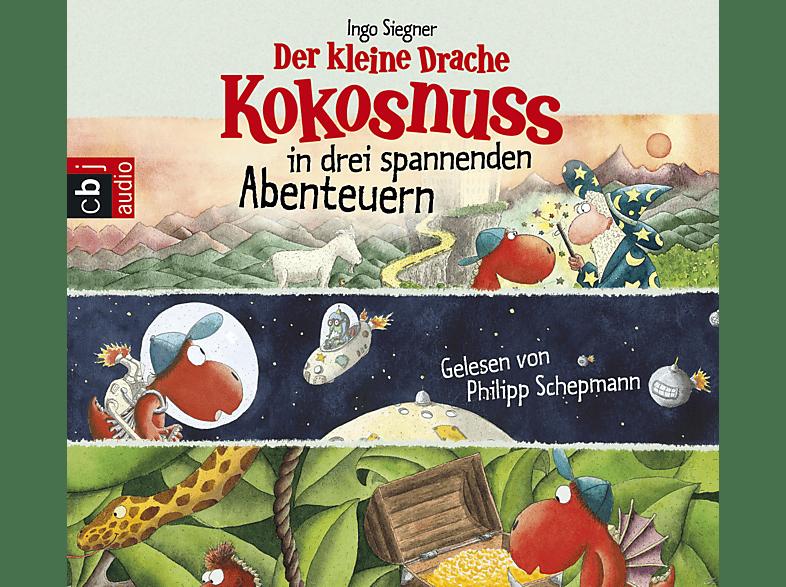 Der kleine Drache Kokosnuss in drei spannenden Abenteuern - (CD)
