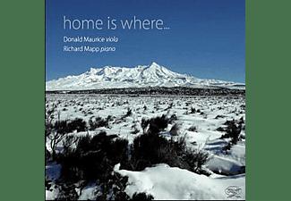 Donald Maurice, Richard Mapp - Home is where...  - (CD)