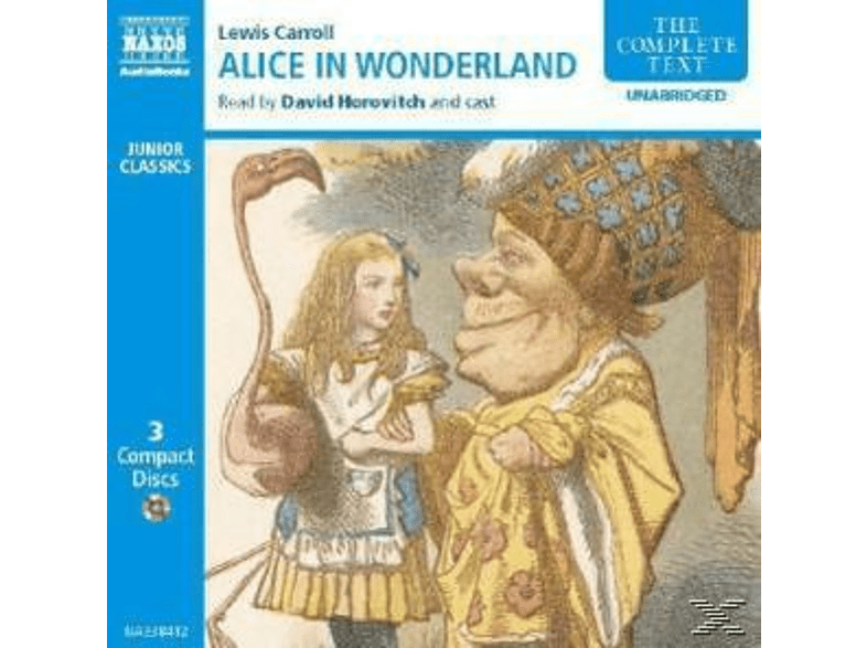 ALICE S ADVENTURES IN WONDERLAND - (CD)