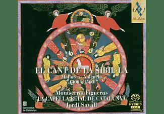 Montserrat Figueras, La Capella Reial de Catalunya - El Cant De La Sibil.La  - (CD)