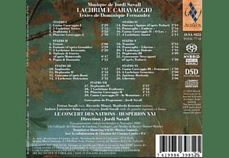 CONCERT D. NATI. - LACHRICHRIMAE CARAVAGGIO  - (CD)