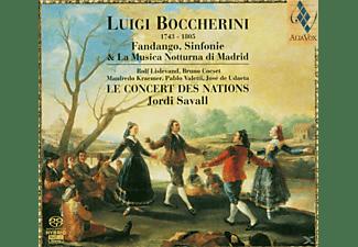 VARIOUS, Jordi Savall, Le Concert Des Nations - Fandango,Sinfonie & La Musica Nott...  - (SACD Hybrid)