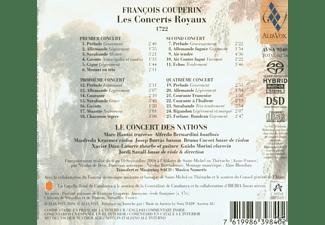 Savall - Les Concerts Royaux  - (CD)