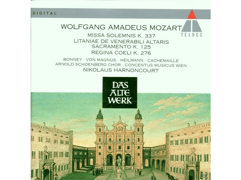 Cmw - Sakralmusik Kv 276+337 [CD]