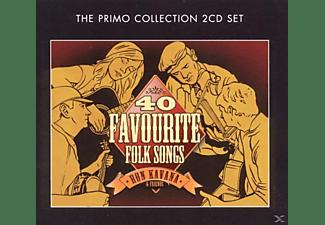 Ron And Friends Kavana - 40 Favourite Folk Songs  - (CD)
