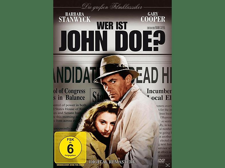 WER IST JOHN DOE [DVD]