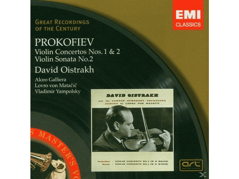 VARIOUS, Oistrach, Lso, Pol, Yampolsky - Violinkonzerte 1+2/Violinson.2 [CD]
