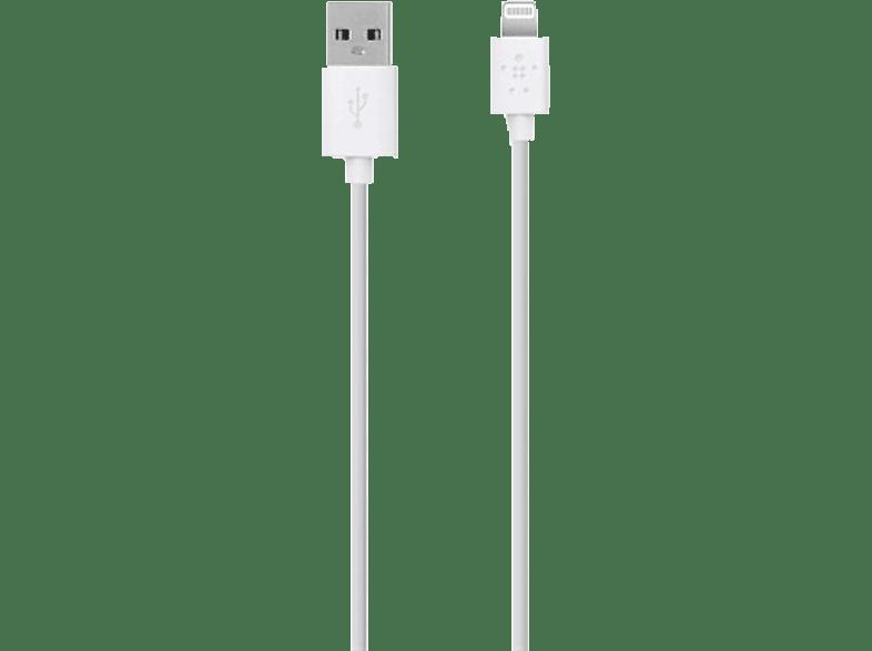 BELKIN Câble Lightning vers USB 1.2 m (F8J023BT04-WHT)