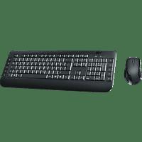 ISY Desktop-Set IDE 3100, kabellos, schwarz