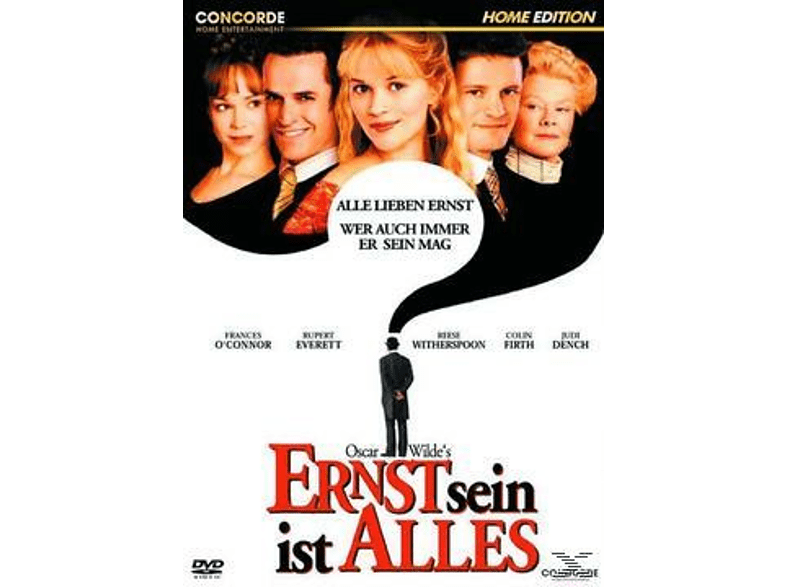 Ernst sein ist alles [DVD]