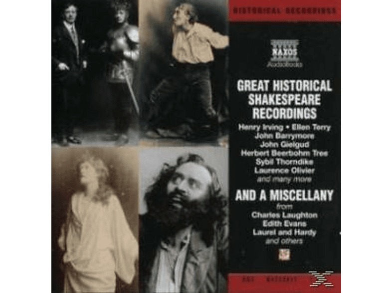 GREAT HISTORICAL SHAKESPEARE RECORDINGS - (CD)