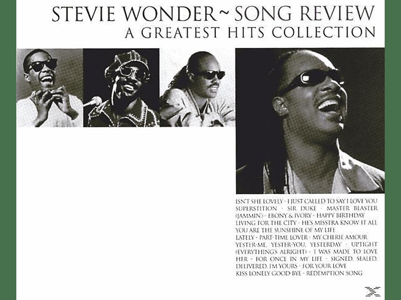 Stevie Wonder - SONG REVIEW/GR.HITS COLL. CD