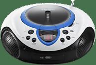 LENCO SCD-38 Radiorecorder (Blau)