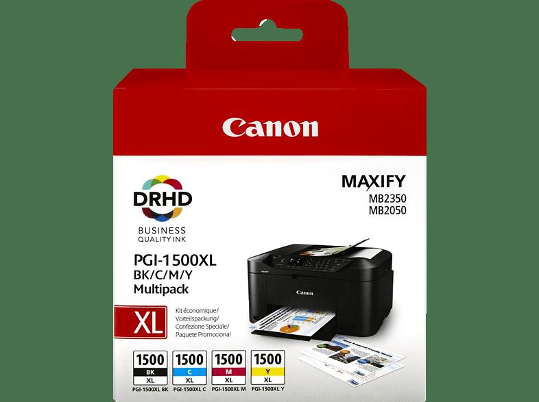 CANON PGI-1500XL Tintenpatrone Multipack mehrfarbig (9182B004)