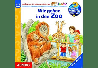 Wieso? Weshalb? Warum? junior. Wir gehen in den Zoo  - (CD)