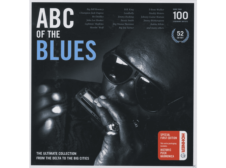 VARIOUS - Abc Of The Blues [CD]