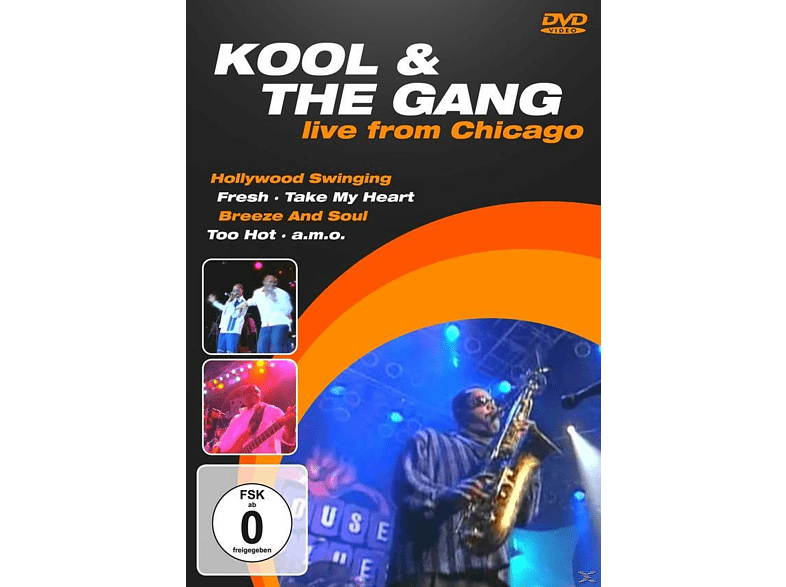 Kool & The Gang - LIVE FROM CHICAGO [DVD]