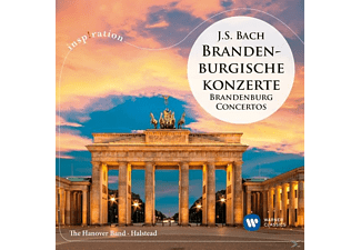 Anthony Halstead, The Hanover Band - Brandenburgische Konzerte 1-5 - (CD)