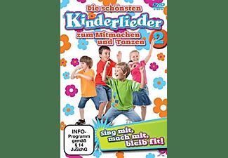 Die Schönsten Kinderlieder zum Mitmachen & Tanzen 2 DVD
