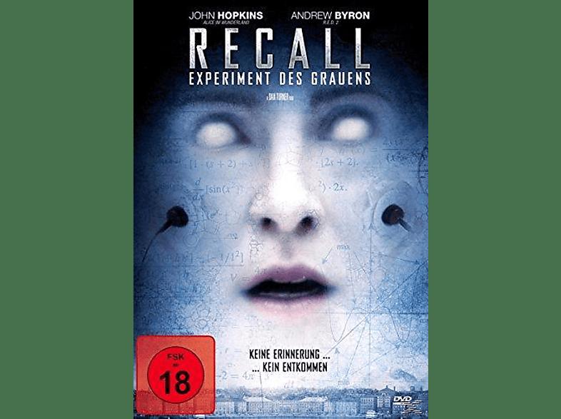 Recall-Experiment des Grauens [DVD]