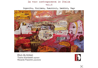 DUO ALTERNO: T. SCANDALETTI: SOPRAN - La Voce Contemporanea In Italia, Vol.6 - (CD)
