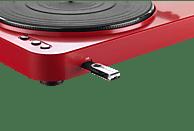 LENCO L-85 USB Plattenspieler (Rot)