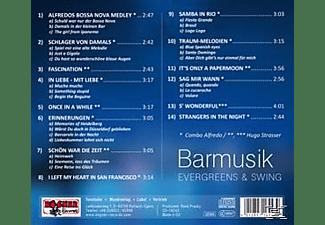 Hugo Combo Alfredo & Strasser - Barmusik, Evergreens & Swing  - (CD)