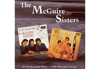 The Mcguire Sisters - Do You Remember When?/while The Lig  - (CD)