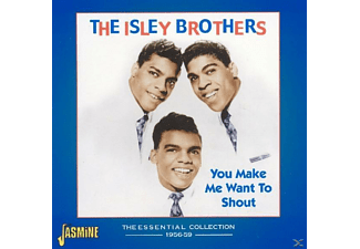The Isley Brothers - YOU MAKE ME WANT TO SHOUT  - (CD)
