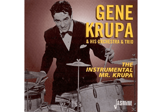 Gene Krupa & his Orchestra & Trio - The Instrumental Mr.Krupa - (CD)