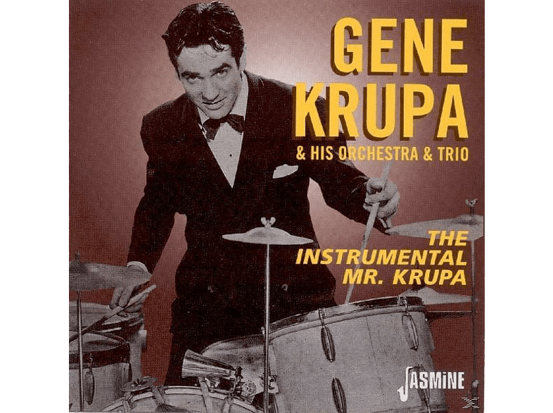 Gene Krupa & his Orchestra & Trio - The Instrumental Mr.Krupa [CD]