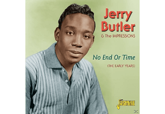 Jerry Butler - No End Or Time-The..  - (CD)