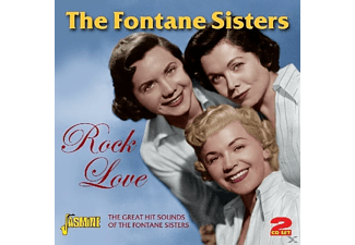 The Fontaine Sisters - Rock Love  - (CD)