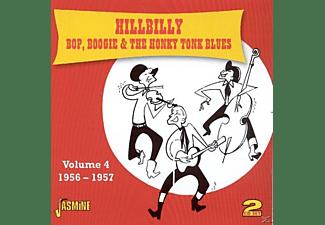VARIOUS - Hillbilly Bop Boogie & Honky Tonk Blues Vol.4  - (CD)