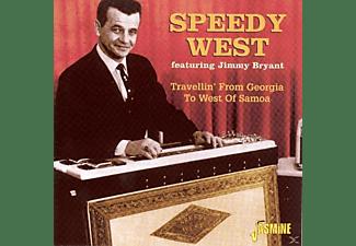 West, Speedy / Bryant, Jimmy - Travellin' From Georgia To West Of Samoa  - (CD)