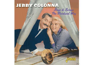 Jerry Colonna - Sings & Swings The Dixieland Way  - (CD)