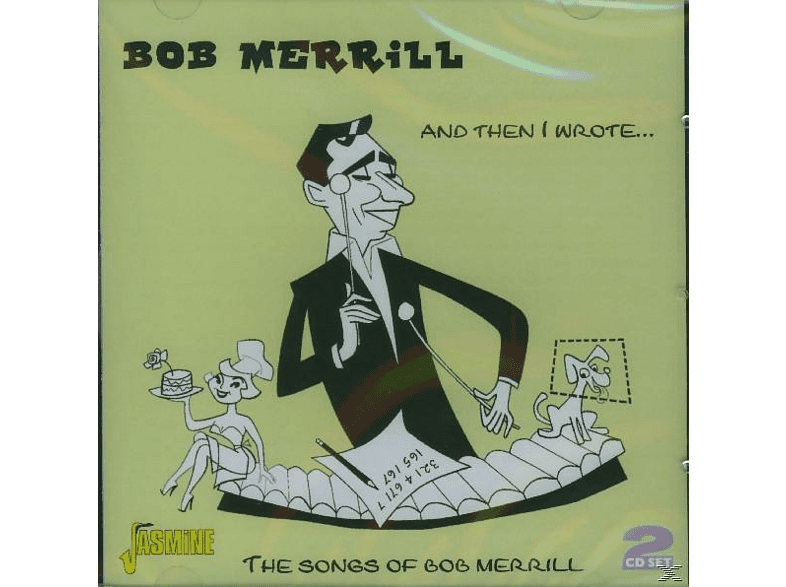 Bob Merrill - AND THEN I WROTE ... [CD]